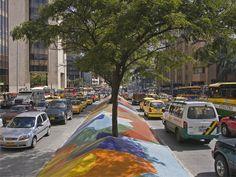 Avenida Oriental, Medellín.