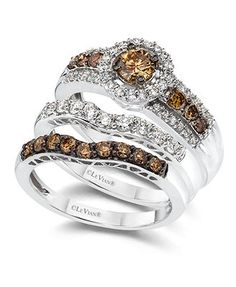 chocolate diamond ringLOVE it Jewelry Pinterest Color