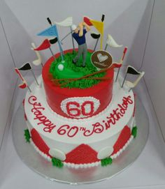 A cake for golfers out there!