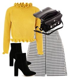 """Untitled #4898"" by theeuropeancloset ❤ liked on Polyvore featuring New Look, Public Desire and Proenza Schouler"