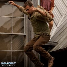 Once a fugitive, you must always be prepared to fight. | Insurgent
