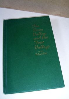 The kitab i aqdas is the most holy book of the bahai faith written the seven valleys the four valleys 1975 bahaullah hardcover fandeluxe Choice Image