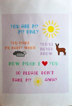 You are my Sunshine - Customisable Illustration for Your Special Someone on Etsy, $29.60 AUD