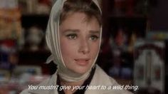Breakfast At Tiffany's is a pretty famous movie, it's recommended in my movie books and is usually on a top film critic's list as a classic. Collection of great and romantic Breakfast at Tiffany's quotes. Tv Quotes, Movie Quotes, Words Quotes, Wise Words, Breakfast At Tiffany's Quotes, Romantic Breakfast, Moving Pictures, Love Pictures, Top Film