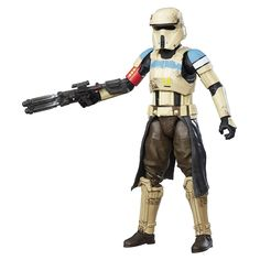 Amazon.com: Star Wars The Black Series Scarif Stormtrooper Squad Leader: Toys & Games