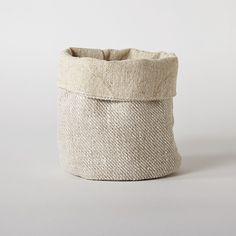 Medium Linen Basket from FlyAway BlueJay