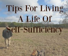 Your first thoughts when you think self-sufficiency? #TheFarmersLamp #SelfSufficiency