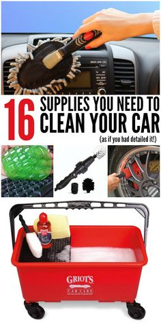 16 Supplies You Need to Clean Your Car (as if you had detailed it)