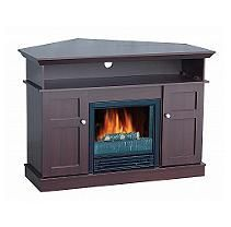 "Electric Fireplace with 42"" Mantle TV Unit"