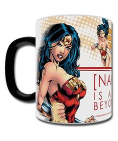 This Personalized Wonder Woman Morphing Mug by Wonder Woman is perfect! #zulilyfinds