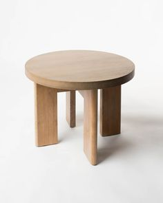 White Birch Side Table
