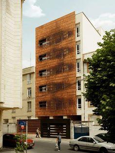 Admun Design, Brick Facade, Tehran