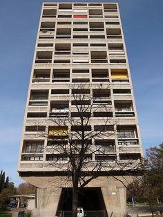unité d'habitation by le corbusier in marseille