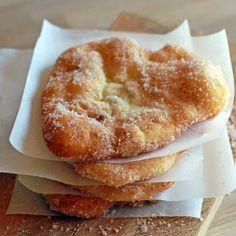 Austrian Bonfire Cakes - Sweet, Sugary Deep-Fried Dough