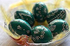 Dekorácie - Kraslice madeirové zelené - 6517278_