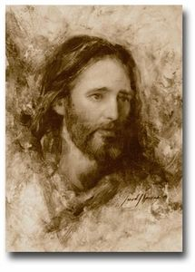 """$109 canvas print by Jared Barnes, """"Merciful Savior"""". I saw this print on Saturday and fell in love with it."""