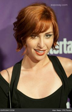 allison scagliotti - Warehouse 13 Hair!! Why are all the cute bob cuts ginger? This is a sign!!