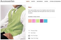 Wedding and prom vest colors include peach, pink bubblegum, green mint, fuchsia, and turquoise. This onyx vest line offers some of the brightest colors with minimal texture. This fullback vest looks great even when you remove the jacket. #vest, #neon, #tux, #wedding, #color, #tuxedovest, #tuxedojunction, #prom, #formal, #tuxedo, #spring, #summer