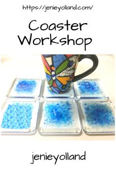 Experiences where you try something new are good for your mental health.  Come & create 6 coasters. You can make six all the same or six that are all very different.  Make them just for the fun of it or as a special gift for someone or bring along someone you want to spend more time with. Bookings of course are essential. Dates available on my website. See you soon.