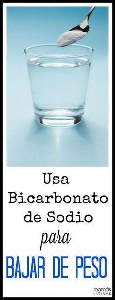 Bicarbonato de sodio para quemar grasa.