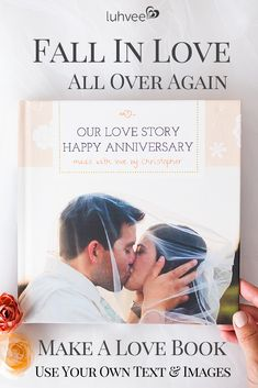 The perfect anniversary gift idea, personalize this love book with your own text and images. A unique gift they will cherish forever, just fill in the blanks. Marriage And Family, Marriage Advice, 1st Anniversary Gifts, Parents Anniversary, Anniversary Ideas, Wedding Anniversary, Reasons Why I Love You, Personalized Books, Personalized Wedding