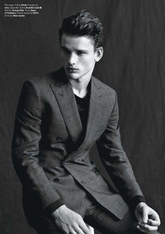 Simon Nessman in DETAILS March 2013 photographed by Matthew Brookes  Styling: Christian Stroble
