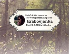 Hrabovjanka - Park Grand Opening event poster