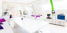 Production Cafe Lounge, Office Desk, Vanity, Urban, Mirror, Design, Furniture, Home Decor, Creative