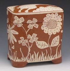 Ron Philbeck pottery box