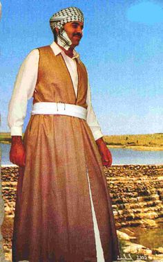 Tel Keppe male traditional outfit, Iraq