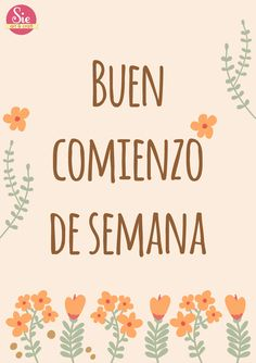 Sie - Art & Craft: Todo lo que te haga feliz ♥ Good Monday, Pink Quotes, Good Morning Good Night, Happy Thoughts, Happy Day, Daily Quotes, Positive Vibes, Positive Quotes, Arts And Crafts