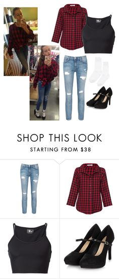 """""""My OOTD"""" by mack-et-la-mode ❤ liked on Polyvore featuring Current/Elliott, Vitamin, Lost & Found and Y's by Yohji Yamamoto"""