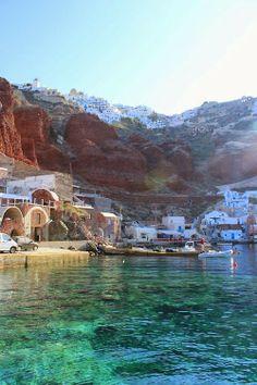 Aguas increíbles para nadar con aletas de tobillo  Mykonos, Greece