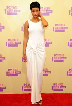 Rihanna en Adam Selman aux MTV Videos Music Awards 2012, CUT!