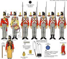 44 rgt. fanteria di linea - compagnia granatieri