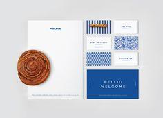 Unique Branding Design, Poplavok via @tanacie #Branding #Identity #Design
