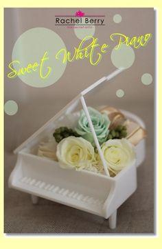 created in lesson--Sweet White Piano|Rachel Berry the Secret Attic
