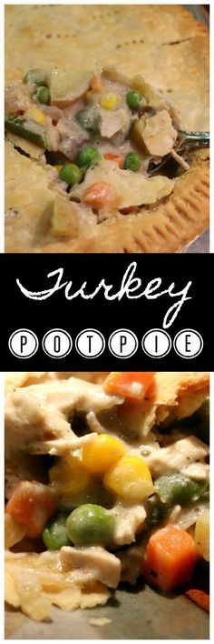 Make this delicious Turkey Pot Pie simply substitute the chicken with your leftover roasted turkey.   CeceliasGoodStuff.com | Good Food for Good People