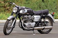 "Widely recognized as one of the most important motorcycles ever launched by Honda, the Honda CB450 Black Bomber is celebrated as the company's first ""big twin"" and as the first volume production double-overhead cam."