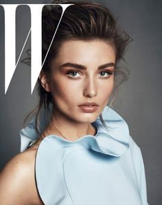Andreea Diaconu by Lachlan Bailey for W Magazine July 2013
