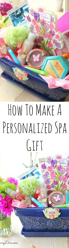 How To Give Your Mom A Relaxing Personalized Spa Pack #BestMomsDayEver