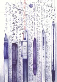 andrea joseph's sketchblog: have you got a pen?