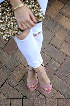 blush heels // the m