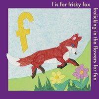 Framed F is For Fox