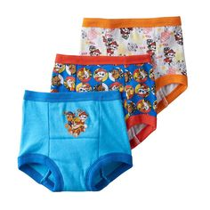 Toddler Boy Paw Patrol Chase, Marshall & Rubble 3-pk. Training Pants, Multicolor