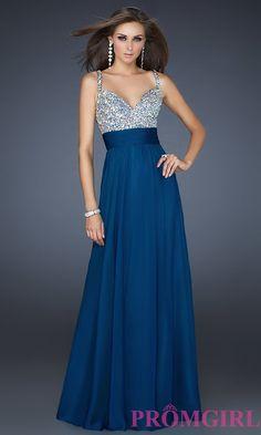 Image of floor length sleeveless dress Front Image