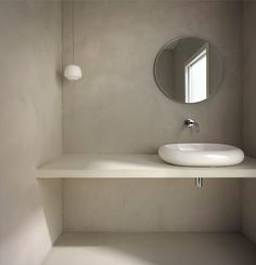Bespoke, luxurious microcement finishes, covering Devon, the south-west and beyond. Beige Bathroom, Bathroom Inspo, Bathroom Inspiration, Polished Concrete Tiles, Concrete Bathroom, Baño Color Beige, Kallax Regal, Relaxing Bathroom, Tadelakt
