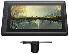 Amazon.com: Wacom Cintiq 13HD Creative Pen and Touch Tablet (DTH1300K): Computers & Accessories