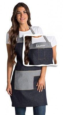 Delantal Tejano Personalizable Jean Diy, Restaurant Uniforms, Easy Face Masks, Apron Designs, Uniform Design, Moda Casual, Pattern Drafting, Easy Sewing Projects, Beautiful Eyes