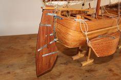 Riproduzione del Burcelo conservato al museo di Venezia, dotazione del modello di Bragosso